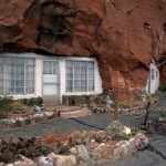 Behind the Hole in the Rock Home