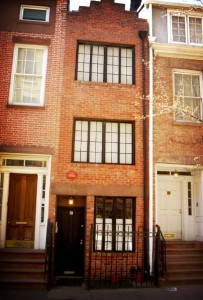 Narrow House at Greenwich Village