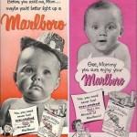 Marlboro Ad Featuring Babies