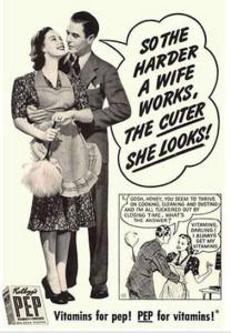 Chauvinist Ad for Vitamins