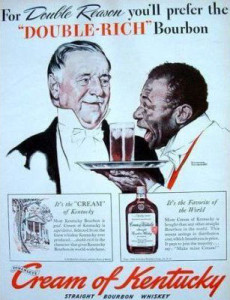 Racist Ad for Bourbon