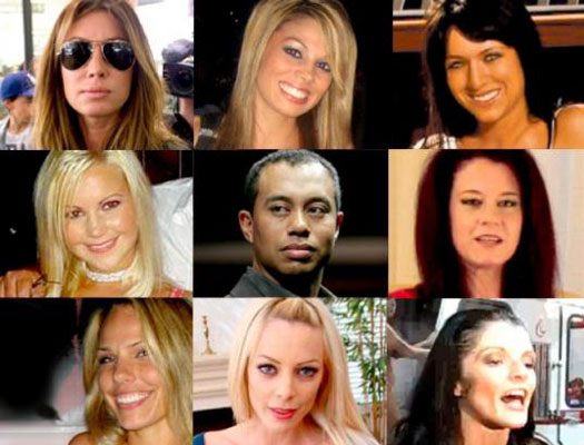 Tiger Woods and Mistresses