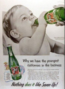 Vintage Ad for 7up