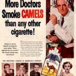 Vintage Ad With Doctors and Camels