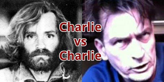 Charlie Manson vs Charlie Sheen!