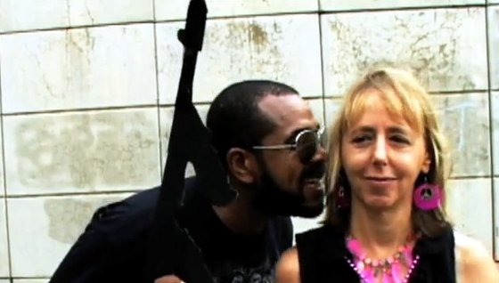 Head-Roc and Medea Benjamin
