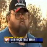 Man Eats His Own Beard