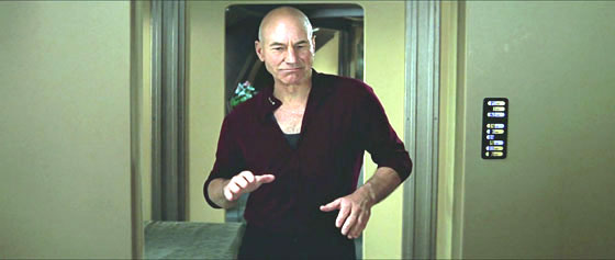 Star Trek - Insurrection - Picard Dance