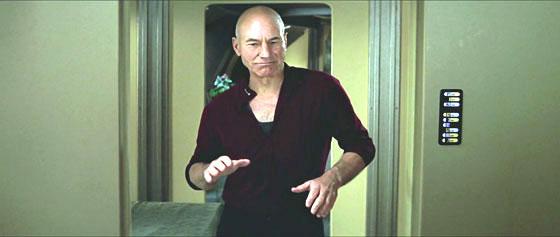 Star Trek - Insurrection - Picard Dance