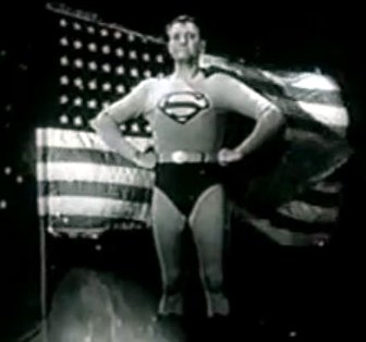 Superman - American Flag