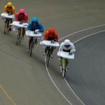 Extreme Ironing on Bikes