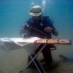 Underwater Extreme Ironing