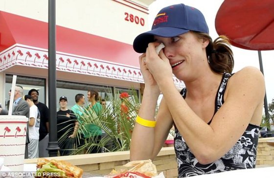 In-And-Out Burger Makes Coman Cry
