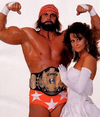Macho Man Randy Savage and Miss Elizabeth