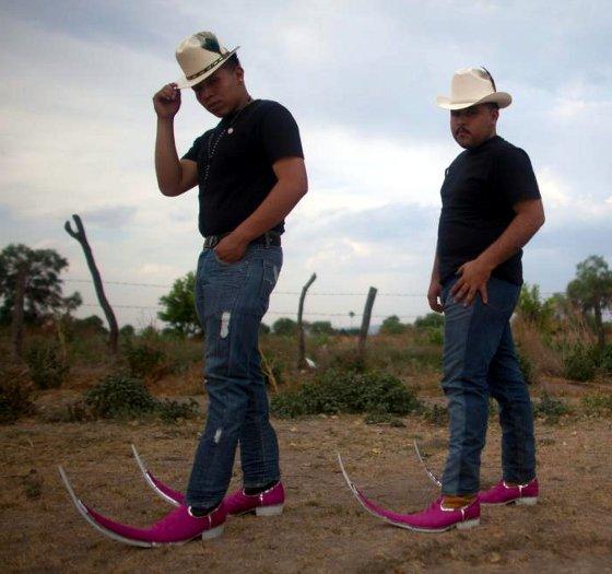 Mexico Pointy Boots Fashion Fad