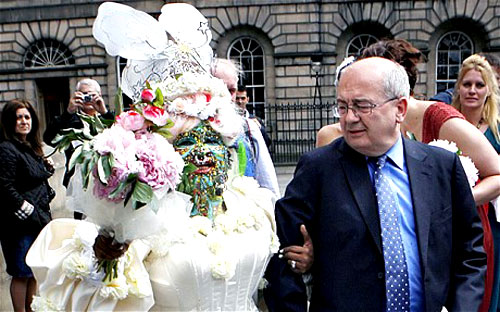 Elaine Davidson Marries