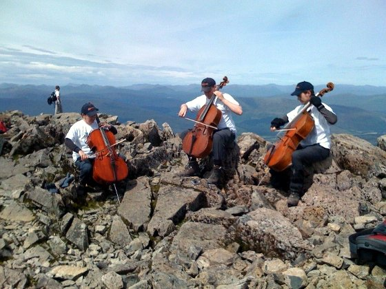 The Extreme Cellists