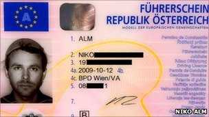 Austrian Atheist - Drivers License