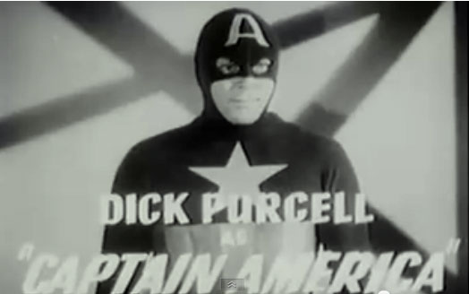 Dick Purcell is Captain America