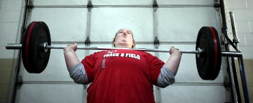 Holley Mangold - Weightlifter