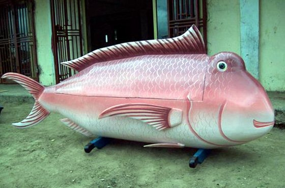 Fish Coffin by Paa Joe