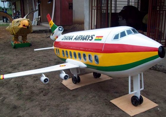 Fantasy Coffin - Ghana Airways
