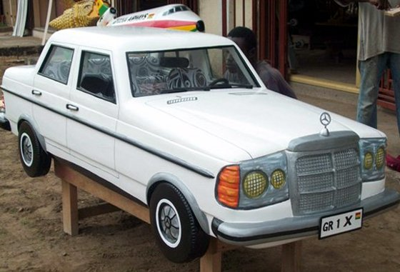 Mercedes Fantasy Coffin