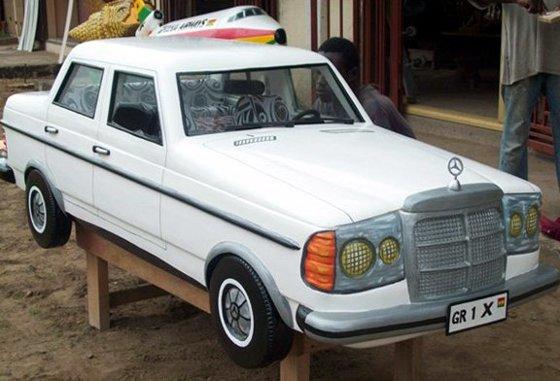 Mercedes Fantasy Coffin