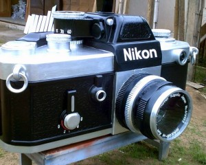Nikon Camera - Fantasy Coffin