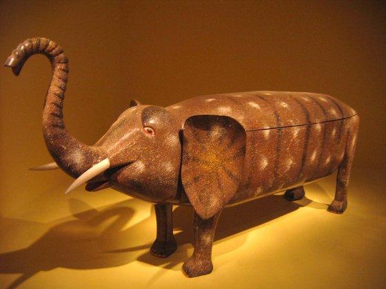 Elephant Coffin by Paa Joe
