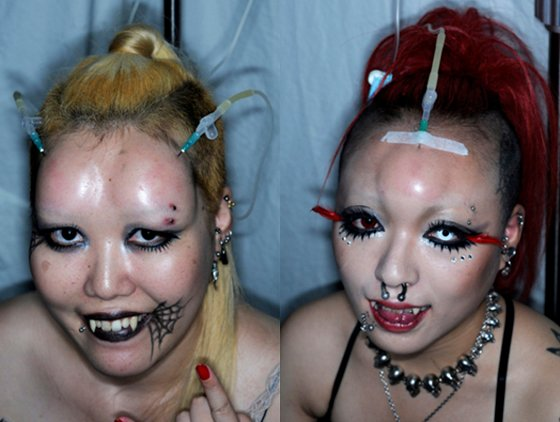 Bagelheads of Japan - Extreme Body Mods