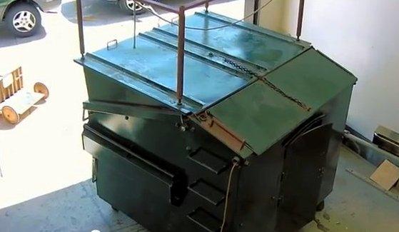 Dumpster House