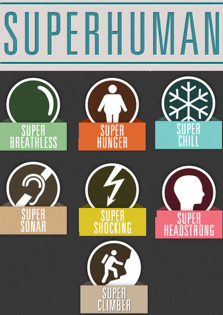 7 Superhumans