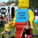 Lego Man At Dance Valley