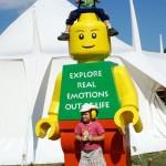 Lego Man at Solar Weekend Festival