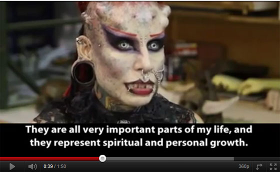 Watch Video of Mexican Vampire Woman