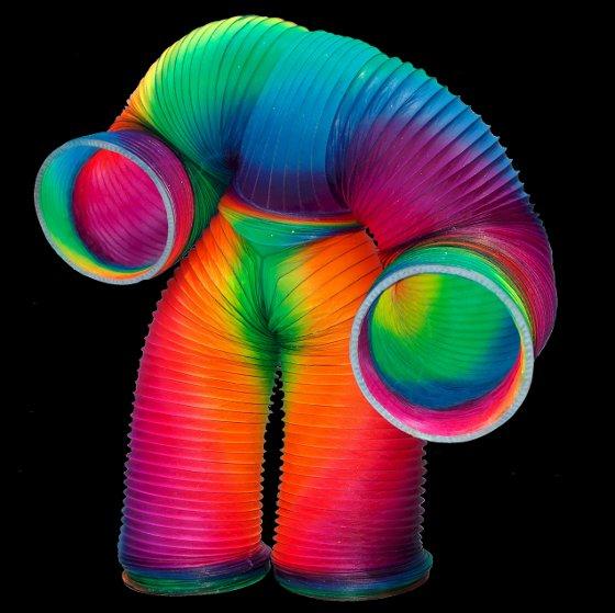 Veniamin Human Slinky Costume