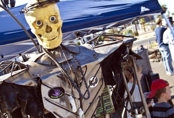 Scrap Metal Skeleton