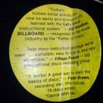 Let's Disco - K-Tel - Label