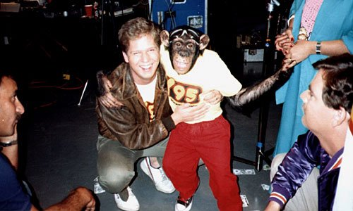 Glenn Beck and Monkey - Y95
