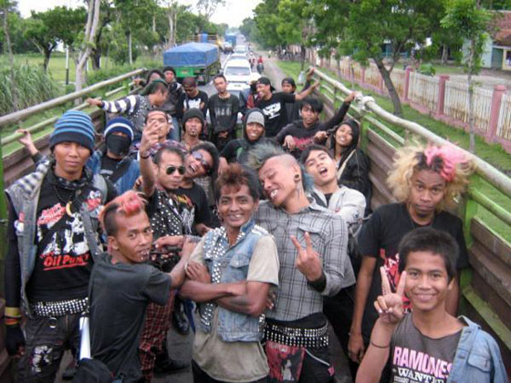 Punk Kids in Indonesia