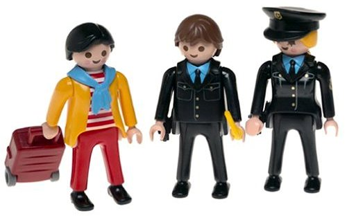 Playmobil Security Checkpoint Toy Set (2)