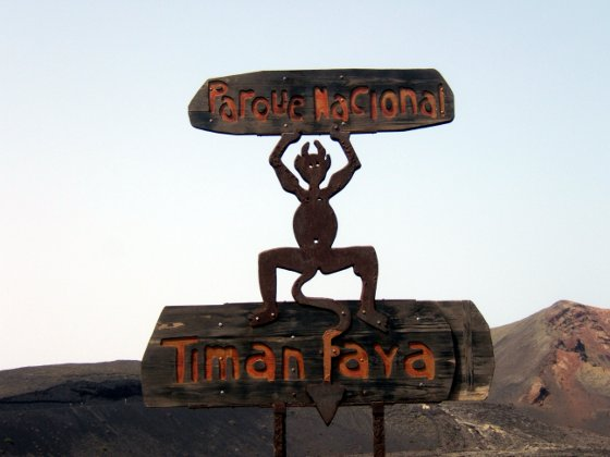 Statue of El Diablo
