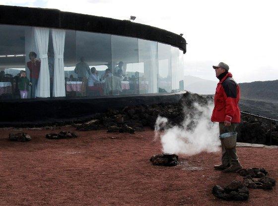 Volcano Restaurant - El Diablo