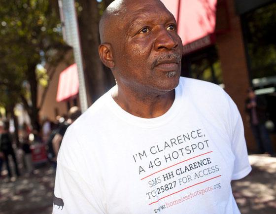 Clarence - 4g Homeless Hotspot