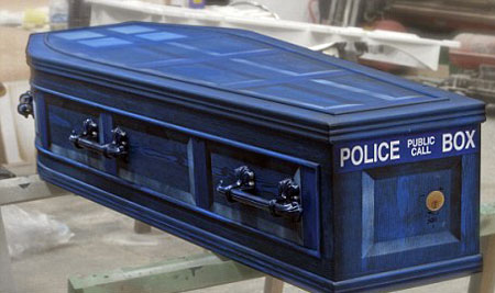 Dr Who Coffin/Tardis