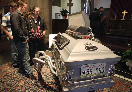 Hot Rod Coffin