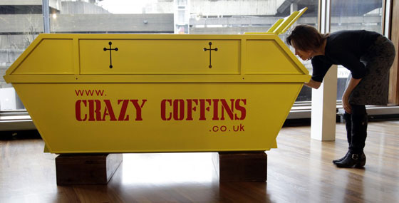 Trash Bin Coffin