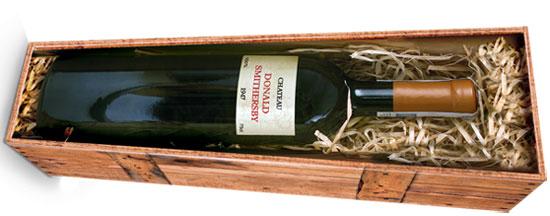 Wine Coffin