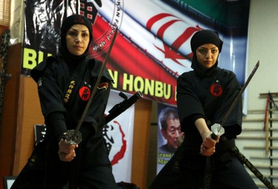 Female Ninjas of Iran 1